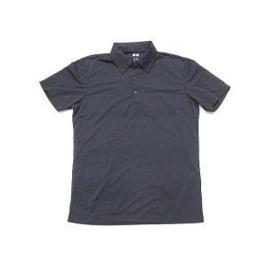 ユニクロ UNIQLO ドライEX ポロシャツ 半袖 ボタン...