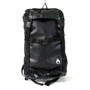 【中古】ニクソン NIXON ランドロック バックパック リュックサック ロゴ 黒 鞄 ※VGPT ...