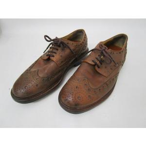 リーガル REGAL インペリアルグレード ウィングチップ FG31 25.5cm EEEE 茶色 ブラウン 皮革 レザー 総柄 シューズ 靴 くつ メンズ【中古】【ベクトル 古着】|vectorpremium
