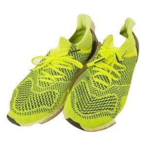 アディダス adidas ウルトラブースト S77414 ランニングシューズ 28.5cm 蛍光黄 イエロー 合成繊維 レースアップ 靴 スポーツ メンズ【中古】【ベクトル 古着】|vectorpremium