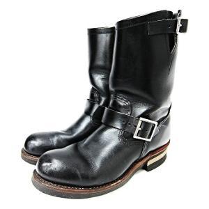 レッドウィング REDWING エンジニアブーツ D2268 黒 ブラック US7.5 25.5cm 革 レザー アメリカ製 靴 シューズ メンズ 【中古】【ベクトル 古着】|vectorpremium