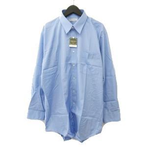【中古】未使用品 KOGEN ROYAL ワイシャツ Yシャツ ドレスシャツ レギュラーカラー 無地...