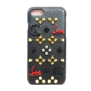 【中古】クリスチャンルブタン Christian louboutin アイフォンケース iPhone...