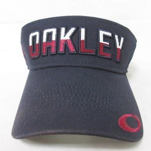 【中古】オークリー OAKLEY 18SS サンバイザー ゴルフ ウェア 用具 アクセサリー 帽子 ...