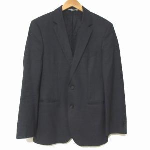 【中古】ヒューゴボス HUGO BOSS シングル スーツ フォーマル 2B ジャケット スラックス...