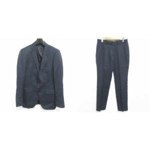 【中古】ザ・スーツカンパニー THE SUIT COMPANY セットアップ スーツ 上下 ウール ...
