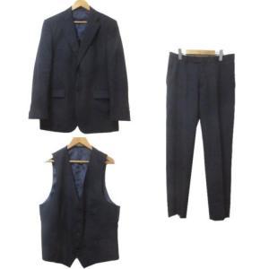【中古】ザ・スーツカンパニー THE SUIT COMPANY スリーピース スーツ シングル ビジ...