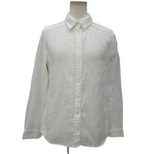 無印良品 良品計画 シャツ ブラウス 長袖 コットン 白系 ホワイト M 190214T レディース...