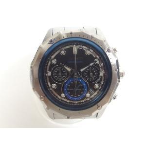 ワイアード WIRED 腕時計 VK-63-K080 クォーツ 文字盤青 クロノグラフ シルバー /...