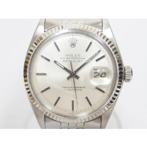ロレックス ROLEX ジャンク DATEJUST デイトジャスト プラ風防 アンティーク 7桁番 1973年製 1601 腕時計 メンズ【中古】【ベクトル 古着】|vectorpremium
