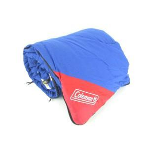コールマン COLEMAN スリーピング バッグ シュラフ 寝袋 筒型 アウトドア キャンプ用品 ブルー 青 柄 メンズ レディース【中古】【ベクトル 古着】|vectorpremium