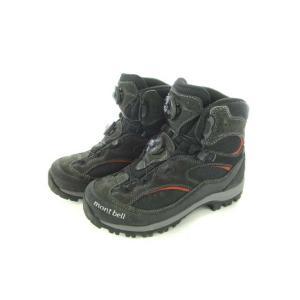 モンベル Montbell テナヤブーツ ゴアテックス リールアジャスト トレッキングシューズ 靴 黒 ブラック 24.5 メンズ【中古】【ベクトル 古着】|vectorpremium