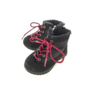 ミキハウス ダブルビー ダブルB MIKIHOUSE DOUBLE.B キッズ ショートブーツ 切替え 靴 シューズ 子供靴 黒 ブラック 14.0cm メンズ レディース【中古】|vectorpremium