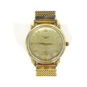 【中古】ロンジン LONGINES 腕時計 オートマチック 10K Gold Filled 自動巻き アンティーク ウォッチ 金 ゴールド メンズ レディース 【ベクトル 古着】|vectorpremium