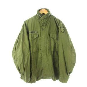 【中古】ヴィンテージ VINTAGE 60's US ARMY 米軍 M-65 初期型 1st フィールドジャケット アルミジップ ミリタリー オリジナル M メンズ 【ベクトル 古着】|vectorpremium