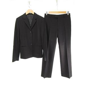 アンタイトル UNTITLED セットアップ パンツスーツ ウール混 2 / 1 ブラック 黒 レディース【中古】【ベクトル 古着】|vectorpremium