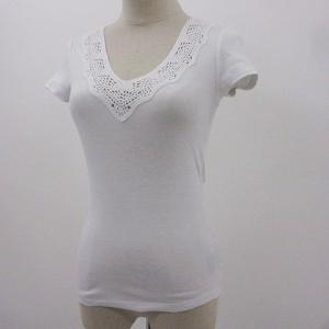 ローレンラルフローレン カットソー Tシャツ 半袖 白 XXS レディース 【中古】【ベクトル 古着】|vectorpremium