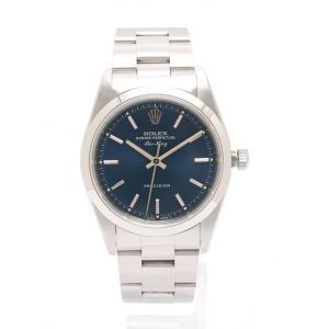 【中古】ロレックス ROLEX 腕時計 エアキング メンズ シルバー 14000 SS 青文字盤 メンズ 【ベクトル 古着】|vectorpremium
