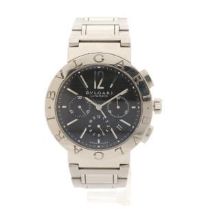 【中古】ブルガリ BVLGARI 腕時計 メンズ 自動巻き ブルガリブルガリ クロノグラフ シルバー...