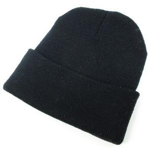 ハイエルディーケー 81LDK ニットキャップ ニット帽 ラインストーン リブ 黒 ◆NK-8537 ◆08 メンズ【中古】【ベクトル 古着】|vectorpremium|02