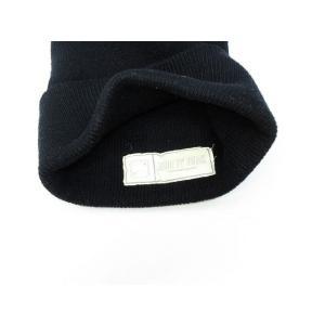 ハイエルディーケー 81LDK ニットキャップ ニット帽 ラインストーン リブ 黒 ◆NK-8537 ◆08 メンズ【中古】【ベクトル 古着】|vectorpremium|03