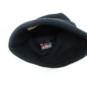 ハイエルディーケー 81LDK ニットキャップ ニット帽 ラインストーン リブ 黒 ◆NK-8537 ◆08 メンズ【中古】【ベクトル 古着】|vectorpremium|04