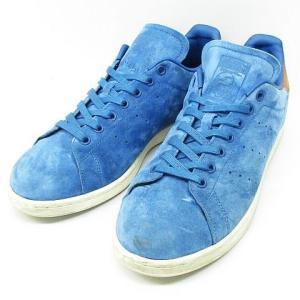 アディダスオリジナルス adidas originals スタンスミス STAN SMITH スニーカー BB0043 スエード シューズ 靴 青 28.5 ※NK-8789 ※02 メンズ【ベクトル 古着】|vectorpremium
