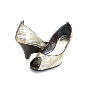 ナチュラルビューティー NATURAL BEAUTY オープントゥ ヒール パンプス 靴 S レザー シルバー 銀 SSAW レディース 【中古】|vectorpremium