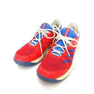 アディダス adidas ウーバーソニック3W PW AC Pharrell Williams テニスシューズ スニーカー 靴 US10 27.0 レッド 赤 S81005 メンズ 【中古】【ベクトル 古着】|vectorpremium