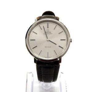 オメガ OMEGA DE VILLE デ・ヴィル ヴィンテージウォッチ 腕時計 151.0039 自動巻き 1972年製 シルバー文字盤 銀 アンティーク SSAW メンズ 【中古】|vectorpremium