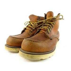 レッドウィング REDWING ブーツ 875 97年 犬刻印 アイリッシュセッター レザー 本革 ブラウン 茶 8 E デッドストック 廃盤 靴 メンズ【中古】【ベクトル 古着】|vectorpremium|02