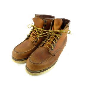 レッドウィング REDWING ブーツ 875 97年 犬刻印 アイリッシュセッター レザー 本革 ブラウン 茶 8 E デッドストック 廃盤 靴 メンズ【中古】【ベクトル 古着】|vectorpremium|03