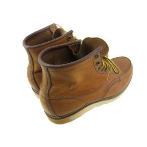 レッドウィング REDWING ブーツ 875 97年 犬刻印 アイリッシュセッター レザー 本革 ブラウン 茶 8 E デッドストック 廃盤 靴 メンズ【中古】【ベクトル 古着】|vectorpremium|04