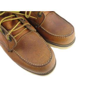 レッドウィング REDWING ブーツ 875 97年 犬刻印 アイリッシュセッター レザー 本革 ブラウン 茶 8 E デッドストック 廃盤 靴 メンズ【中古】【ベクトル 古着】|vectorpremium|05