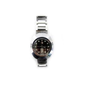 ラドー RADO 腕時計 ウォッチ DIASTAR ダイヤスター 8-625.0008.3 デイデイト 自動巻き 11P 黒文字盤 ブラック シルバー  メンズ【中古】【ベクトル 古着】|vectorpremium