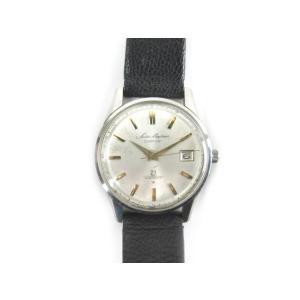 セイコー SEIKO 腕時計 ウォッチ SKYLINER Calender スカイライナー DIASHOCK 21石 手巻き デイト シルバー ゴールド アンティーク ビンテージ オールド|vectorpremium