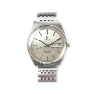 オメガ OMEGA 腕時計 ウォッチ Seamaster シーマスター デイデイト オートマティック 33mm シルバー アンティーク オールド ビンテージ メンズ【中古】|vectorpremium