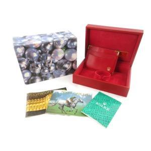 ロレックス ROLEX 保存箱 純正 収納ケース 空箱 BOX 腕時計用 冊子 水玉 赤 レッド  付属品 その他 【中古】【ベクトル 古着】|vectorpremium