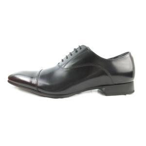 【中古】未使用品 リーガル REGAL ビジネスシューズ ストレートチップ レースアップ 011R レザー 黒 ブラック 25cm 革靴 メンズ 【ベクトル 古着】 vectorpremium