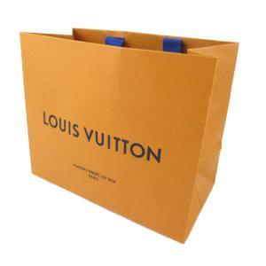 【中古】未使用品 ルイヴィトン LOUIS VUITTON ショッパー ショップ袋 紙袋 純正 オレンジ 22cm×18cm×11.5cm 鞄 その他 【ベクトル 古着】 vectorpremium