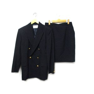SPASSO スーツ セットアップ ジャケット ダブル スカート ネイビー  レディース【中古】【ベクトル 古着】|vectorpremium