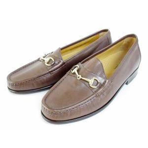コールハーン COLE HAAN ローファー ドレスシューズ ビットローファー 革靴 レザー CO2497 茶 7M メンズ 【中古】【ベクトル 古着】|vectorpremium