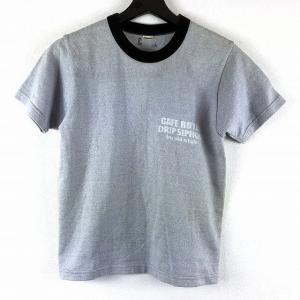 ザ フラットヘッド THE FLAT HEAD バックプリント Tシャツ カットソー 半袖 CAFE...
