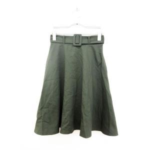 神戸レタス KOBE LETTUCE スカート ひざ丈 フレ...