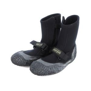 モンベル Montbell 沢靴 シューズ 24 黒 ブラック ☆CA☆キ29-2店 /ka0115...