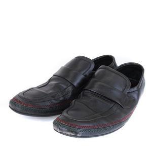 グッチ GUCCI ビジネスシューズ 革靴 42 黒 ブラック ☆CA7☆ /kt0226 メンズ【中古】【ベクトル 古着】|vectorpremium