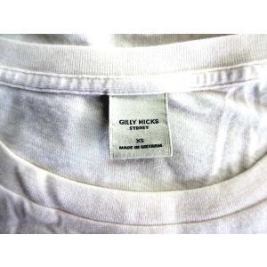 ギリーヒックス Gilly Hicks Tシャツ ボートネック ブランドロゴ 刺繍 半袖 XS 白 /HR255 レディース 【ベクトル 古着】【中古】 vectorpremium 03
