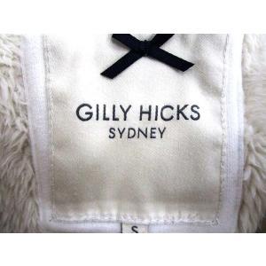 ギリーヒックス Gilly Hicks ジャケット ショート丈 ボタン 無地 S 白 レディース 【ベクトル 古着】【中古】|vectorpremium|03