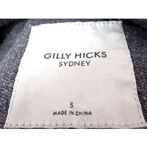 ギリーヒックス Gilly Hicks トレーナー スウェット イラスト スパンコール 長袖 S グレー レディース 【ベクトル 古着】【中古】|vectorpremium|04