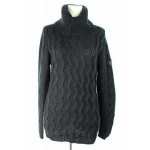 ディーゼル DIESEL ニット セーター タートルネック 長袖 XS 黒 レディース【中古】【ベクトル 古着】|vectorpremium